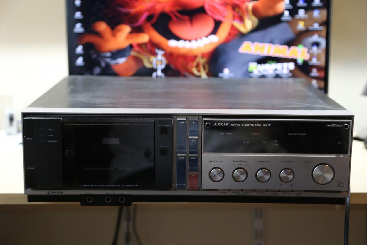 Luxman KX-101 - Luxman - stereo-hifi - forum (nie tylko) magnetofonowe